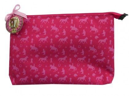 Horse Friends Pink Wash Bag
