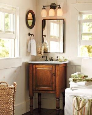 Best Pottery Barn Decorating Images On Pinterest Basement - Pottery barn bathroom storage for bathroom decor ideas