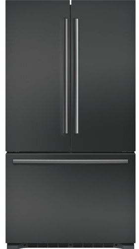 800 Series Series 21 Cu Ft Black Stainless Steel Counter Depth