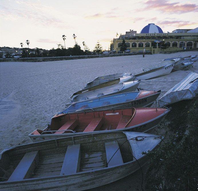 Coogee beach at dusk #Sydney