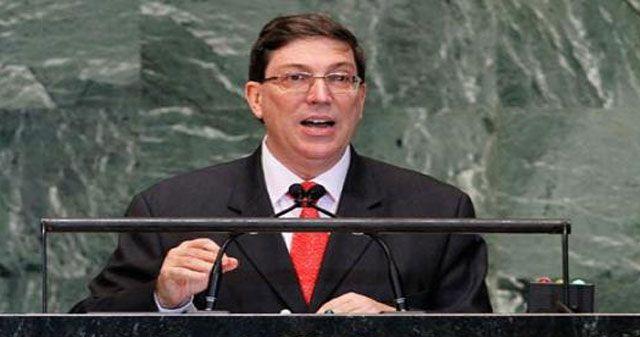 El ministro de Relaciones Exteriores de Cuba, Bruno Rodríguez, denunció el agresivo discurso de la representante estadounidense en bbcvcbvvbvb