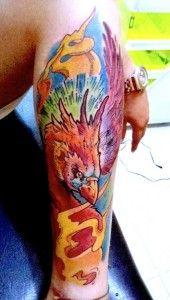 Tatuagens de Fenix tinta na pele 33 - Tinta na Pele | Tatuagem