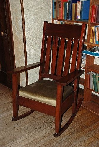 arts and crafts movement | Arts and Crafts movement rocking chair, Ragdale | Flickr - Photo ...