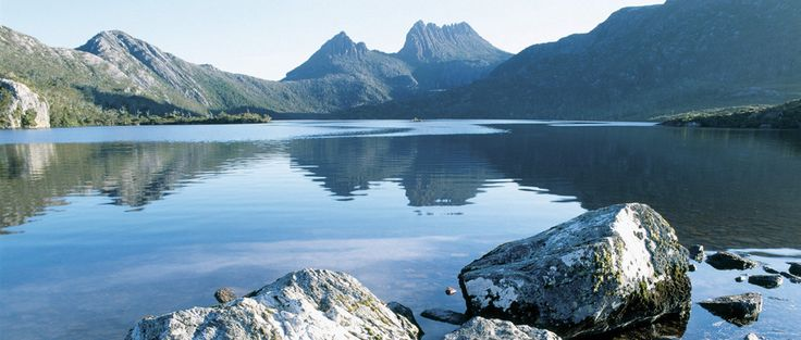 Overland Track Tasmania  The Overland Track is one of Australia's most famous bush treks, situated in the Cradle Mountain-Lake St Clair National Park, Tasmania. More than 8000 walkers each year complete the track.