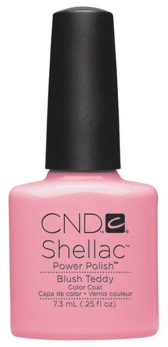 CND - Shellac Blush Teddy (0.25 oz)