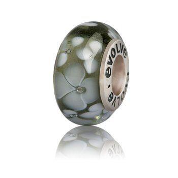 Franz Josef NZ Murano Glass Bracelet Charms - evolve-jewellery.co.nz