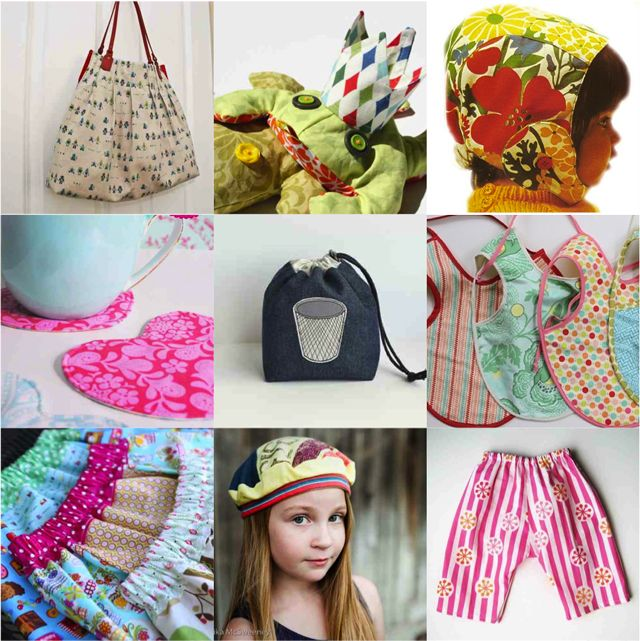 15 free PDF patterns easy for beginners.