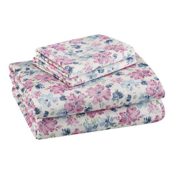Better Homes Gardens 300 Thread Count 100 Cotton Wrinkle Resistant Sheet Set King Baltic Sea Walmart Com In 2020 Sheet Sets Better Homes King Sheet Sets