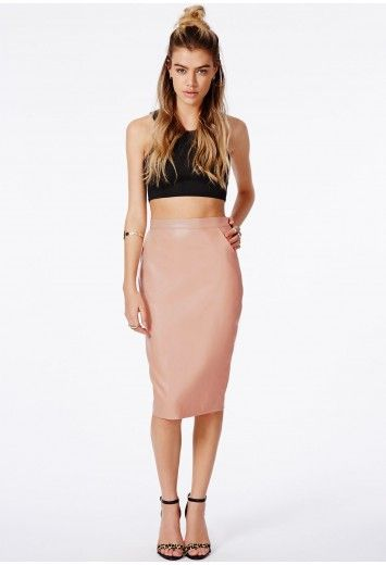 19 best ideas about faux leather pencil skirt outfit on Pinterest ...
