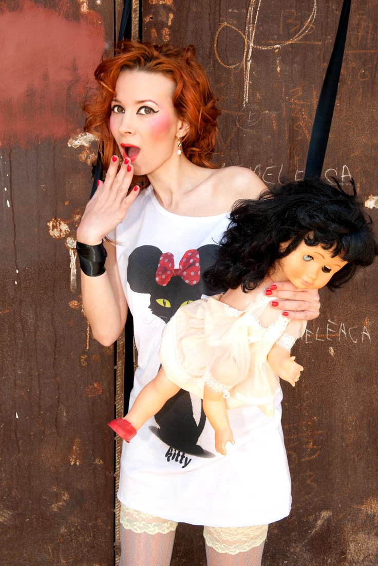 Undercover Minnie T-Dress.  The Child'sPlay Photoshoot