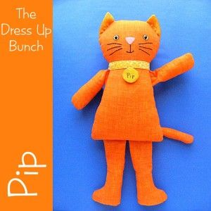 Another Cat. Site shows ideas for clothes for these cats too. Pattern for sale, but has ideas.