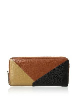 64% OFF Zenith Women's Multi-Tone Wallet, Peanut/Black