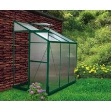 The Earthcare 4 x 6 Lean-To Greenhouse Kit   The amazing 4' x 6' Aluminum Lean to Greenhouse Kits are a perfect addition to any home and garden, it's also easily and safely attached.  #Greenhouse #GreenhousesforSale