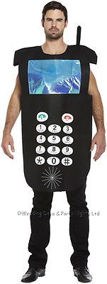 M/l/xl #mobile phone suit telephone costume #men/ladies fancy #dress stag night 8, View more on the LINK: http://www.zeppy.io/product/gb/2/310871493024/