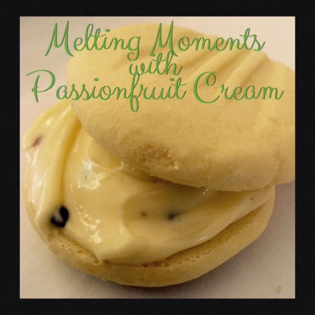 Melting Moments with Passionfruit Cream (Thermomix Method Included) « Mother Hubbard's Cupboard