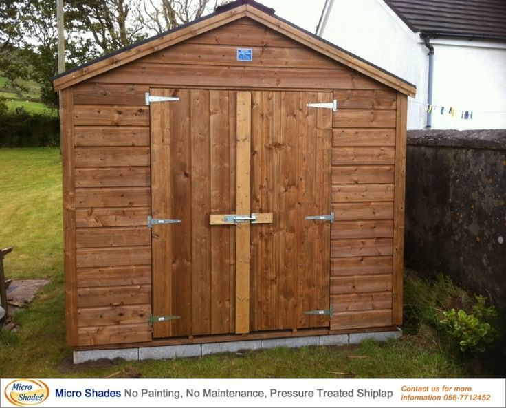 Garden Sheds Ireland - Timber Sheds Dublin and Wooden Sheds for Sale Online…
