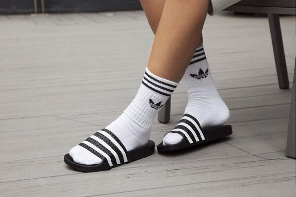 Adidas slides - need a new pair my old ones are soooo worn out