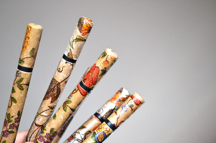 A decorated pen could make writing more interesting!