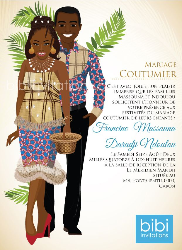 15 best West African Tradional Wedding Invitation images on ...