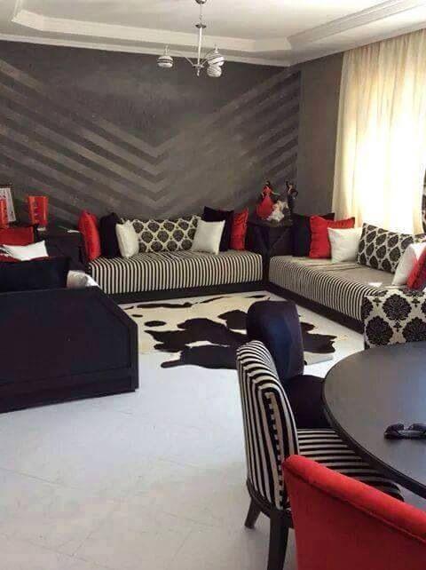 17 best images about moroccan living room salons - Bois pour salon marocain ...