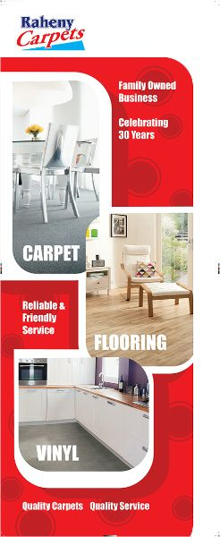 Banner Graphic Design for Raheny Carpets