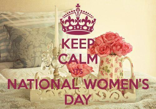 Keep Calm - Nat'l Women's Day