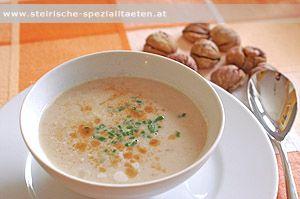 Kastaniensuppe - Maronisuppe - Maronensuppe