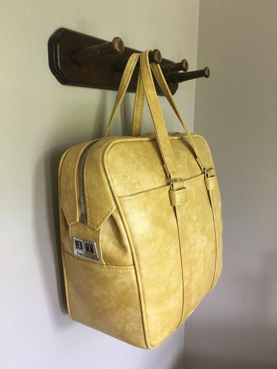 Vintage Samsonite Silhouette  Shoulder Bag Yellow by bobkabob