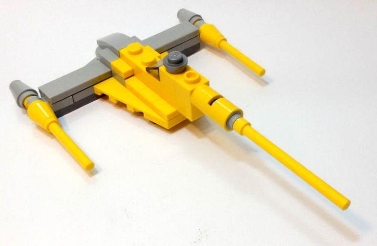 """Naboo Starfighter, modellino esclusivo del numero 6 della rivista """"Lego Star Wars"""" (Panini Magazine) #StarWars #Lego"""