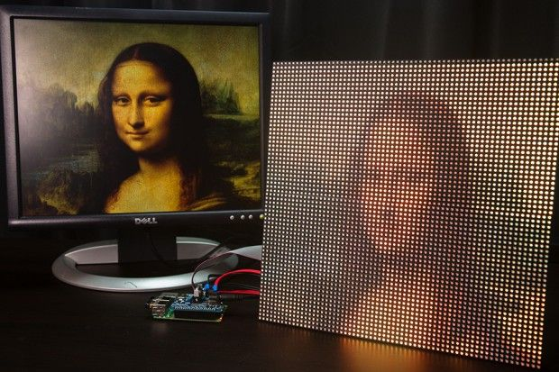 Tutorial Raspberry Pi: monta una pantalla de LEDs para tu Raspberry #Raspberrypi #diy #tutorial