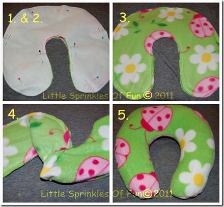 Travel pillow tutorial!! Why did I never think to sew my own?!