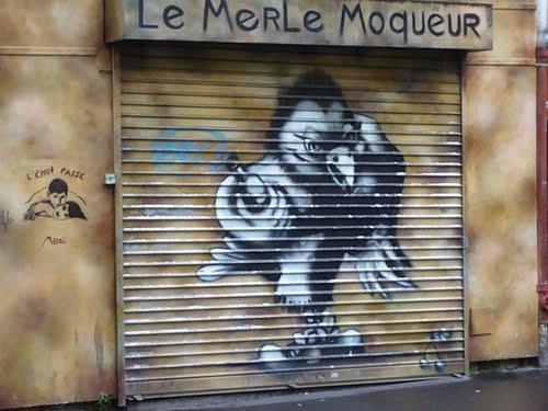 Le merle moqueur, Paris
