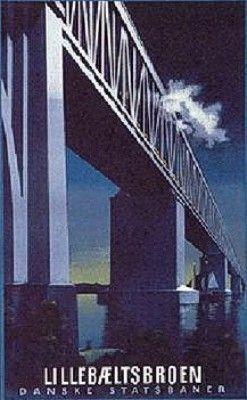 Express train and Lillebælts Broen