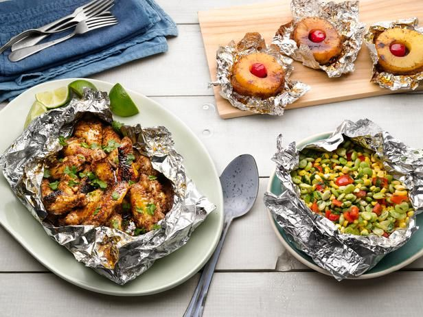50 Things to Grill in Foil via @foodnetwork magazine