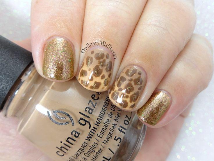 52 week nail art challenge - Week 39: Animal