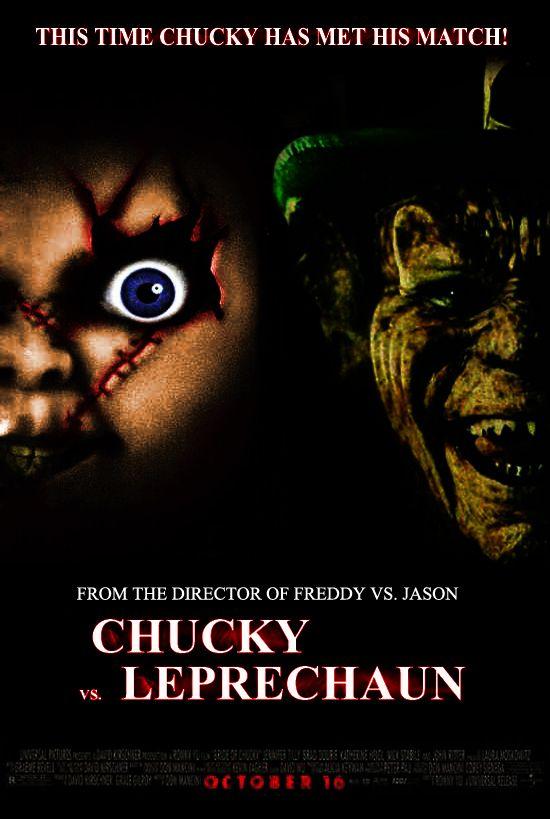 Chucky vs Leprechaun   Pinhead vs Pennywise. The lord of the hell vs a demonic shape ...