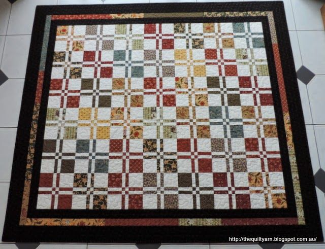 Disappearing 4 Patch Quilt Block Tutorial - YouTube