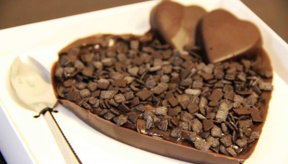 Coração Recheado de Brigadeiro Gourmet - Brigadeiro Store