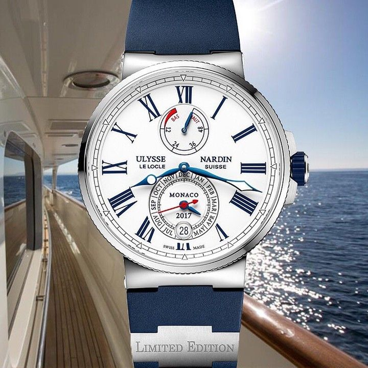 The seafaring DNA is encapsulated in the Ulysse Nardin Marine chronometer created for the Monaco Yacht Show that will take part from September 27th to 30th. #MarineChronometerAnnualCalendarMonaco #UlysseNardin Learn more by clicking the link in the bio. via @ulyssenardinofficial