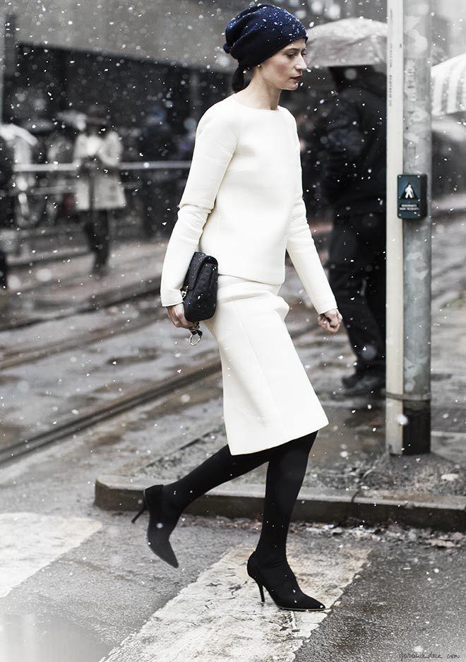 white-snow