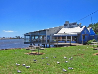 Pedro's The Restaurant (for a great seafood meal).