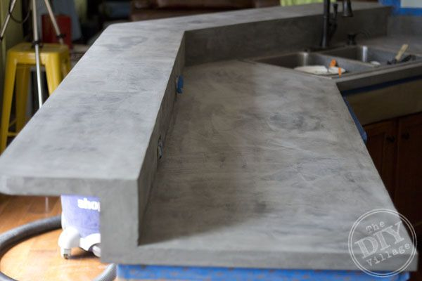 17 Best Images About Concrete Counter Top How To On