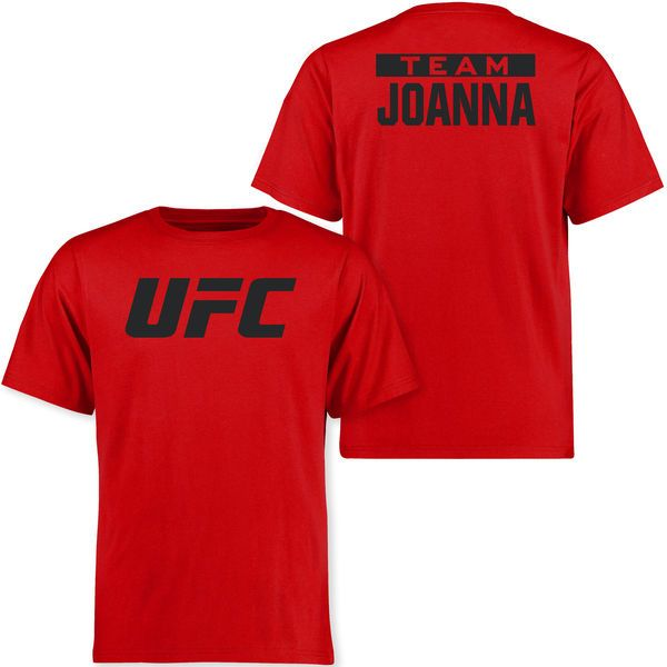 Joanna Jedrzejczyk UFC Ultimate Fighter T-Shirt - Red - $29.99