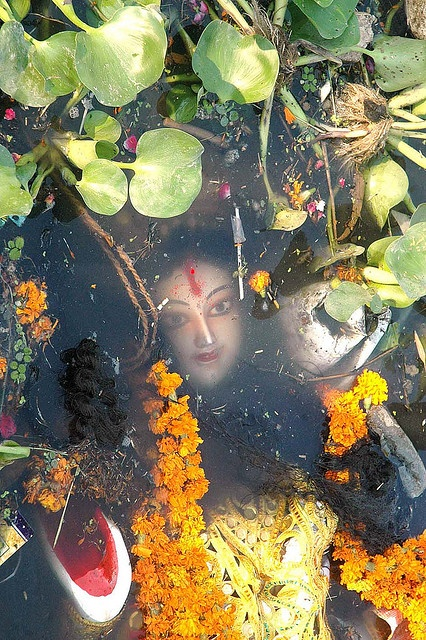 Immersion after Durga Puja