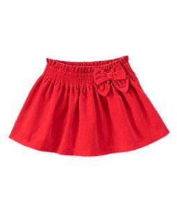 Pull-On Corduroy Skirt Baby girl skirt
