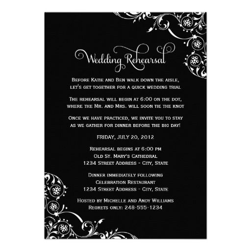 20 best Rehearsal Dinner Invitation Template images on Pinterest - dinner invitation template