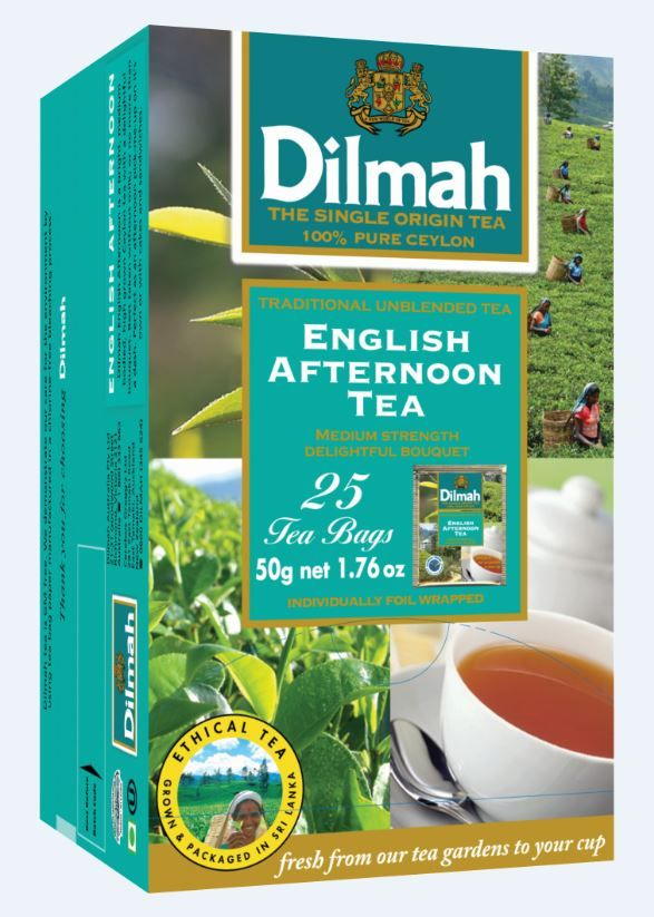 Čaj Dilmah gourment selection - English Afternoon