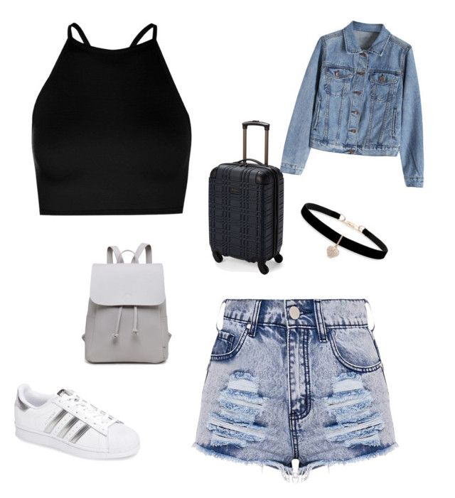 """Untitled #217"" by rekac on Polyvore featuring Boohoo, adidas, Ben Sherman and Betsey Johnson"