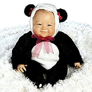 Amazon.com: Paradise Galleries Realistic & Lifelike Asian Baby Doll, Su-Lin, 20 inch GentleTouch Vinyl, Weighted Body: Toys & Games