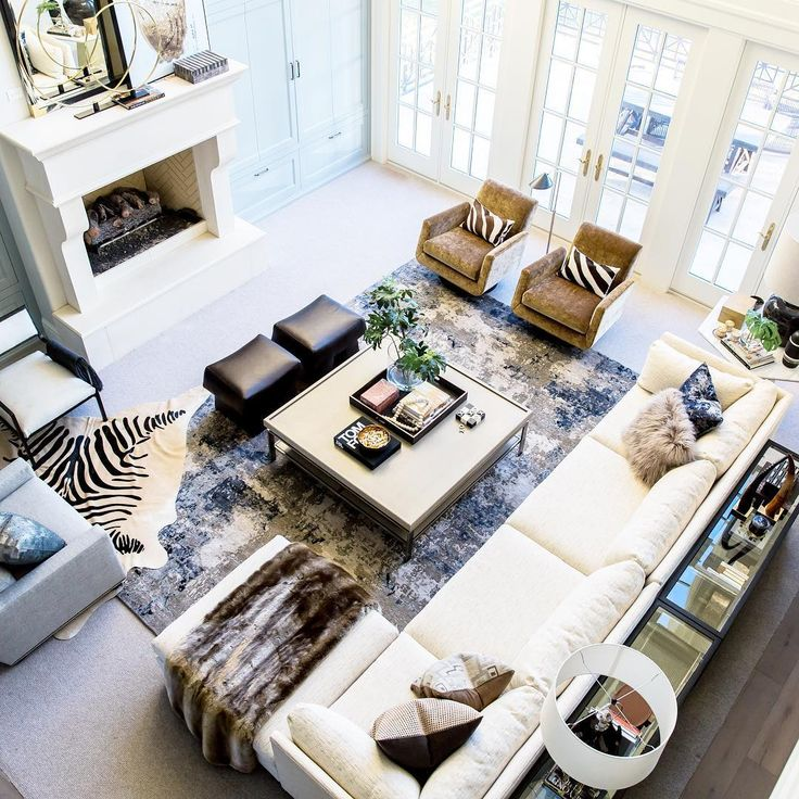 Layout + Colors · Living SpacesLiving RoomsLiving ...